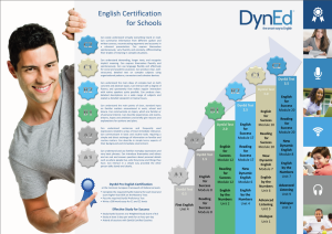 Certification Poster for Schools